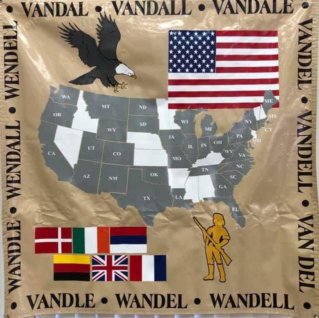 Vandal hanging